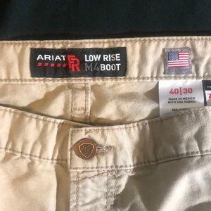 ARIAT FR M4 boot  men's work Pants sz 40